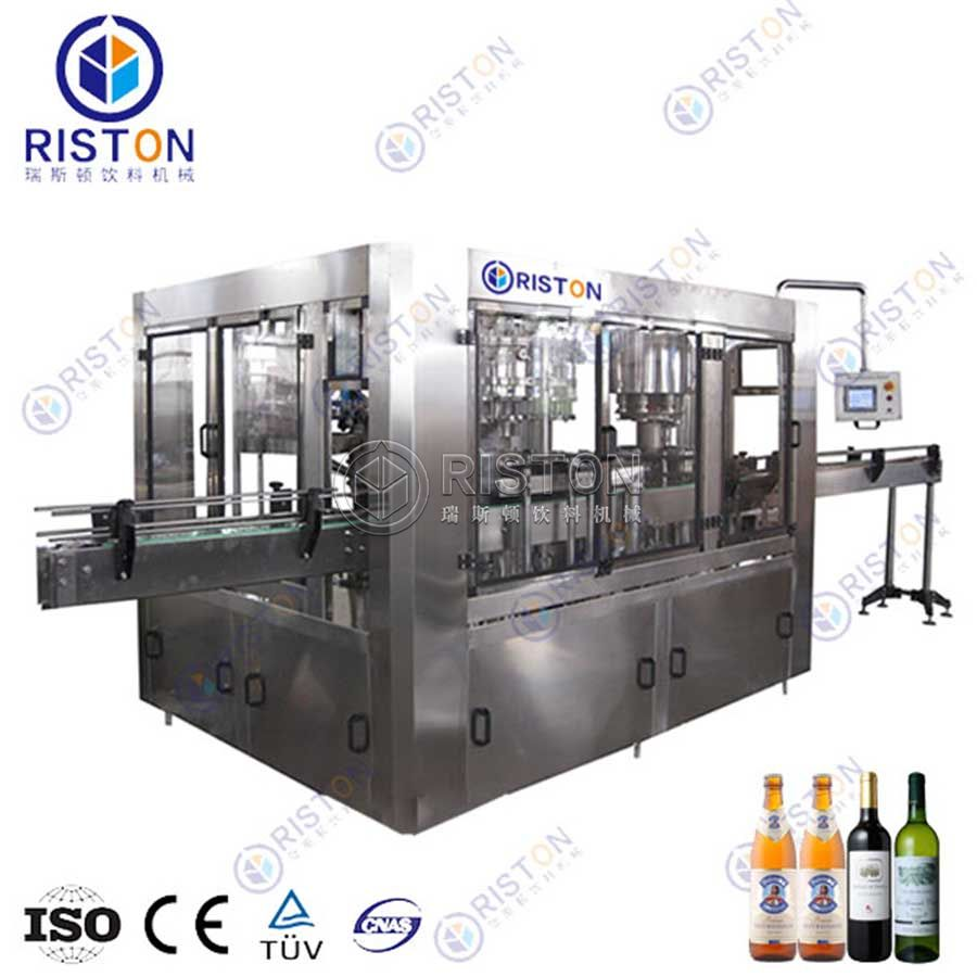 Beer&wine Glass Bottle Filling Machine