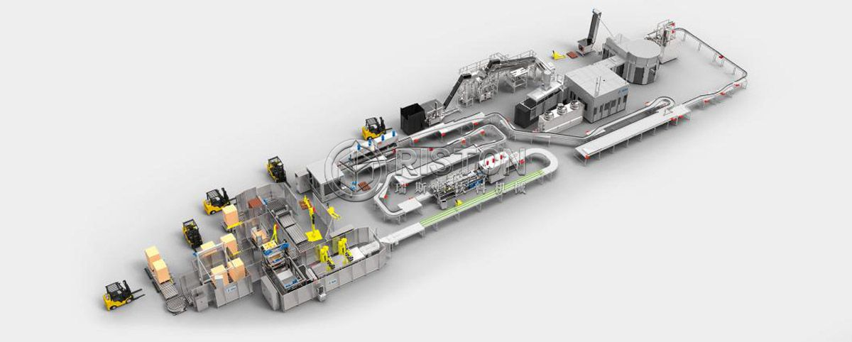 Can Carbonated Drink Filling Line
