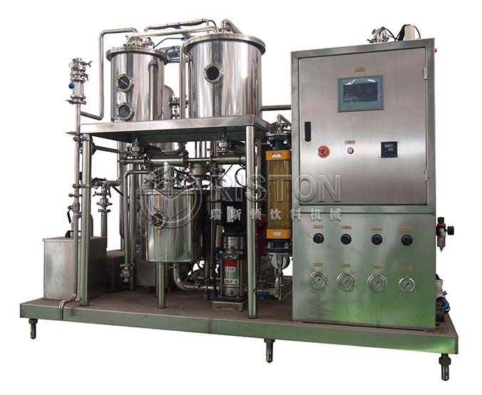 Carbonated Beverage Can Filling Machine